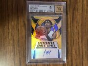 Ja Morant Gold Auto 2019-2020 Panini Certified Rookie Roll Call Gold 9/10