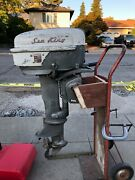 1950and039s Montgomery Ward Sea King 12hp Outboard Motor