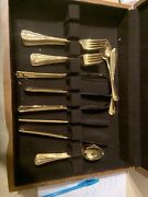 Towle Supreme Cutlery Stainless Steel Gold 33 Pieces Japan