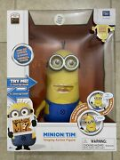 Despicable Me 2 Minion Tim Talking Action Figure Interactive Doll Brand New