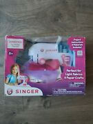 Singer Chainstitch Toy Sewing Machine 8+ Kid Works Batteries Included Free Ship
