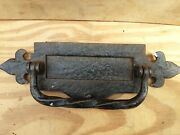 Vintage Old Antique Cast And Brass Front Door Letter Boxs Sizes In Pictures