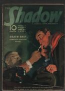 Shadow 1939 April 1. The Shadow Unmasked On Cover. Pulp