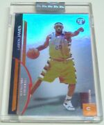 Very Rare Mint 2005 Topps Pristine Uncirculated Rare Lebron James Lakers 263/325