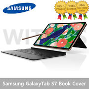 Samsung Galaxy Tab S7 S7 + Plus Keyboard Book Cover Case Ef-dt870 / Ef-dt970