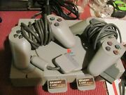 Sony Playstation 2 / 8 Games / Scph-5501 / Used / 2 Controllers, 2 Memory Cards