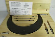 Brown And Sharpe Interchangeable Mandrel Micrometer 6-9 Part No. 599-178-9-1