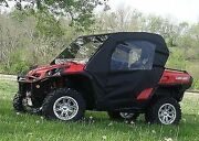 Can Am Commander Full Enclosure - Hard Windshield Doors Rear Window And Roof