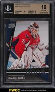 2009 Upper Deck Young Guns Braden Holtby Rookie Rc 499 Bgs 10 Pristine