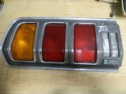 1976 1977 Toyota Celica Liftback 2dr 5 Speed Lh Tail Light Oem With Wiring