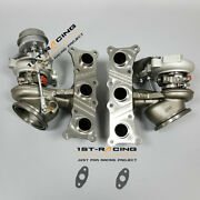 650hp Twin Turbos Td04l 16t Billet 6+6 Stage 2 For Bmw E90 E92 E93 135i 335i N54