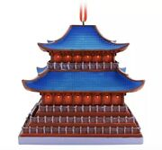 Confirmed Mulan Imperial Palace Ornament- Disney Castle Collection- Lr- Sold Out