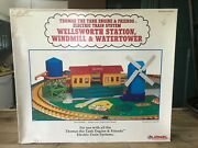 New 1994 Thomas The Train Station, Windmill, Water Tower G Scale