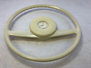Ivory Steering Wheel And Horn Pad Mercedes 108 109 111 113 114 115 1154640301