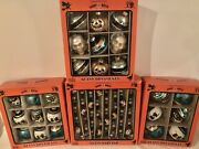 Christopher Radko Halloween Ornaments-3 Boxes Of Ornaments And 1 Box Of Garland