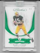 2018 Panin Flawless Emerald 78 Bart Starr Green Bay Packers 4 Of 5