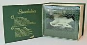 Snowbabies Winter Tales Hold On Tight Dept 56 - 1988 Retired  Nos