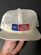 Vintage 80s Ford Truck Snapback Hat Mesh K Product Usa Trucker Cap Patch Farm