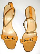 Shoes Ankle Straps Horse Bit Vintage 1970and039s Italian Size 40 Usa Size 9