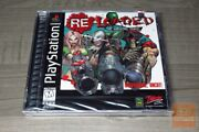 Re-loaded The Hardcore Sequel Playstation 1 Ps1 1996 Factory Sealed - Rare