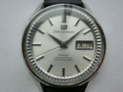 Seiko Sportmatic 5 7619-7050 Vintage Day Date Ss Deluxe Automatic Mens Watch