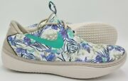 Nike Solarsoft Moccasin Trainers Floral Classic Stone 622268-003 Uk8.5/us11/eu43