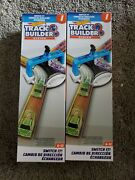 2 Hot Wheels Switch It Vehicle Diverter Box I Track Builder System Brand New
