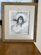 Henri De Toulouse-lautrec Lithograph Limited Edition Of 400. Signed In Plate