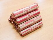 Lot Of 10 Rolls - Lincoln Wheat Cent Penny - 1953-d Denver - 500 Pennies