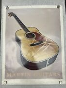 Rare Vintage 1992 Martin Guitars D-41 Dealer Poster 22andrdquox28andrdquo By Dale Gustafson