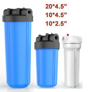 Simpure 20x4.5/10 X 4.5/ 10 X 2.5 Big Blue Whole House Water Filter System