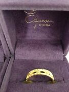 Qvc Hsn 18k India Solid Ring L Ike Cathy Waterman Look S 24k