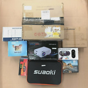 Job Lot Led Projectors Jump Starters/chargers Speakers Batteries And More