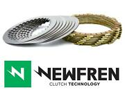Newfren Friction And Steel Clutch Plate Kit To Fit Ktm 250 Sx 2t 13-20