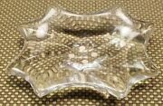Vintage Baccarat Ashtray / Candy Bowl Dish - Made In France Cadix Crystal Glass