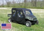 Full Enclosure For John Deere Xuv 550 S4 - Hard Windshield Doors Roof Rear