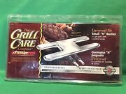 """Universal Gas Grill Care H Style Stainless Steel Burner 14""""-17-3/4"""""""