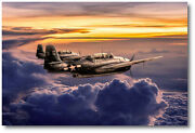 Two For The Show By Peter Chilelli - Grumman Tbf Avenger - Aviation Art Print