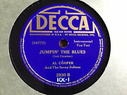 78 Rpm When I Grow Too Old To Dream/jumpinand039 The Blues- Al Cooper-1939