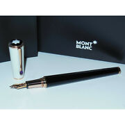 New/os Ingrid Bergman Special Edition Fountain Pen M 18k Gold 104905