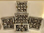 Christopher Radko Christmas Ornaments-4 Boxes Of Ornaments And 1 Box Of Clusters