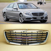 S-class M Style Front Grille Fit Mercedes Benz W222 Chrome 20142020 New