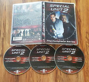 /355 Special Unit 2 The Complete Series 3-disc Dvd Michael Landes Rare And Oop