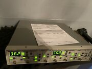 Stanford Research Sr650 Dual Ch Hi/lo Dual Channel Filter Calibrated Warranty