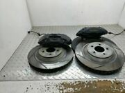 2006 Mustang Saleen S281 S281sc Front Brake Calipers And Rotors Upgrade