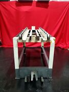 Surface Combustion 36x48 Rail Storage Table S/n Bc-42074-1