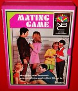Vintage 1960's The Mating Game Rare Nbc Tv's Game Show Hasbro Mib Old Stock Mint