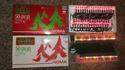 2 Vintage Noma Christmas 50 Lite Set String To String 24and039 Long - Works Great