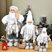 Home Ornaments Christmas Santa Claus Doll Lovely Decorations Indoor Party Supply
