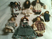 Lot Of 7 Lizzie High Dolls